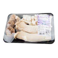 Tesco 3 Mixed Mushroom Set