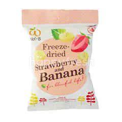 Wel B Freeze Dried Strawberry And Banana (16g)