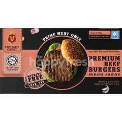Victoria Crest Beef Burger (4 Pieces)