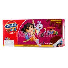 MCVITIE'S Junior Dora Milk Chocolate