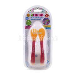 OKBB Cutlery Set With Travel Case (3 Pieces)