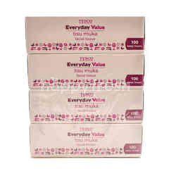 Tesco Everyday Value Facial Tissue