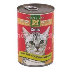 Pet Forest Makanan Kucing Tipe Basah