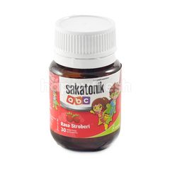 Sakatonik Strawberry Flavor
