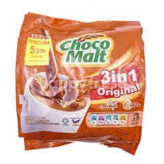 Tesco Choco Malt 3 In 1 Original