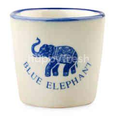 Blue Elephant Elephant Pattern Tea Cup