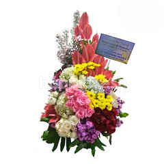 Citra Florist High Style Mix Flower Table Bouquet