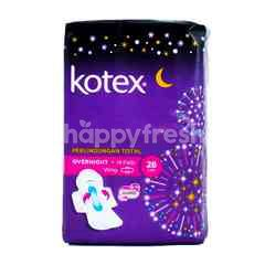 Kotex Soft and Smooth Overnight Pads (14 pieces)