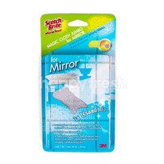 สก็อต ไบรต์ ผ้าใยไมโครไฟเบอร์ สำหรับเช็ดกระจก