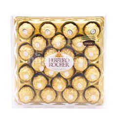 Ferrero Rocher Hazelnut Chocolate (24 Pieces)
