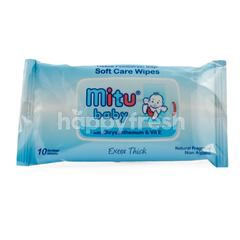Mitu Baby Extra Thick Soft Care Wipes with Chrysanthemum & Vit E