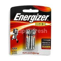Energizer Max Batteries 1.5 Volt AAA LR03