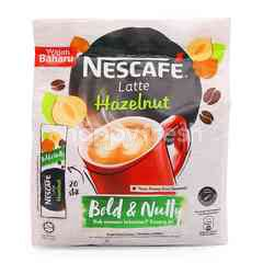 Nescafé Hazelnut Flavour Latte Premix Coffee (20 Sticks)