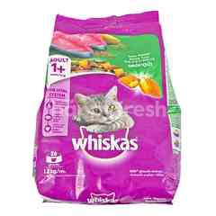 Whiskas Tuna Flavored Cat Food with Salmon Pockets