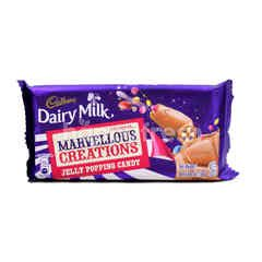 Cadbury Marvellous Creations Jelly Popping Candy Dairy Milk Chocolate