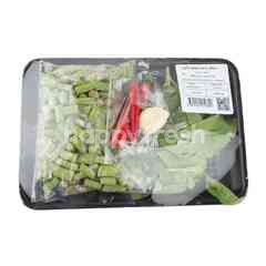 Tesco Fried Basil Leave Set