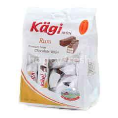Kagi Mini Rum Premium Swiss Chocholate Wafer