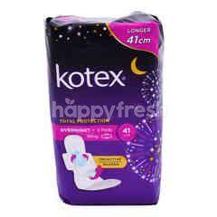 KOTEX Soft & Smooth Overnight - Heavy Flow/Night - Wing - Extra Long 41cm