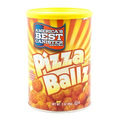 America's Best Canister Snacks Pizza Ballz