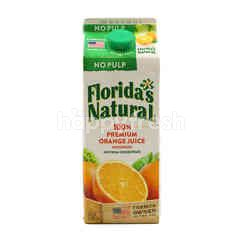 Florida's Natural 100% Premium Orange Juice (No Pulp)