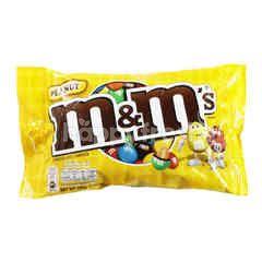 เอ็มแอนด์เอ็ม ช็อกโกแลตนมไส้ถั่วลิสงเคลือบน้ำตาลสีต่างๆ 200 กรัม