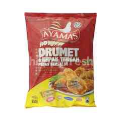 Ayamas Ayamas Frozen Hot And Spicy Drumettes
