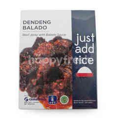 Just Add Rice Beef Jerky with Balado Sauce