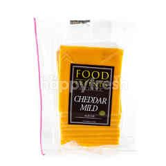 Food For Friends Sliced Cheddar Mild Cheese