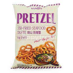 Samjin Pretzel Stir-fried Seafood Taste