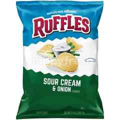 Ruffles Sour Cream & Onion Potato Chips