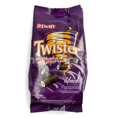Delfi Twister Wafer Mini Hitam