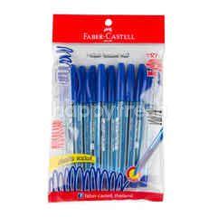 เฟเบอร์-คาสเทลล์ ปากกาหมึกเจล 0.5 มม. 10 ด้าม