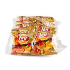 LAY'S Rock Hot Chili Squid Flavour