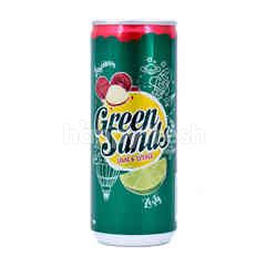 Green Sands Lime And Lychee Carbonated Drinks