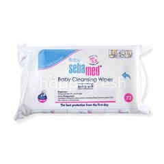 BABY SEBAMED Cleansing Wipes Extra Soft pH 5.5