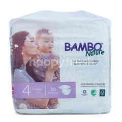 Bambo Nature Popok Bayi Ukuran 4
