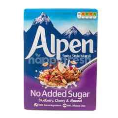 Alpen No Added Sugar Blueberry, Cherry & Almond Swiss Style Muesli