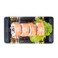Aeon Salmon Aburi Roll