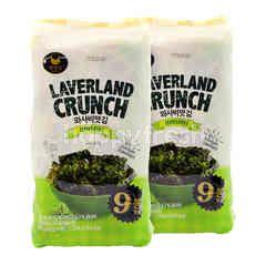 Manjun Laverland Crunch Korean Seaweed Twinpack