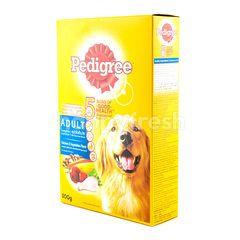 Pedigree Makanan Anjing Dewasa Rasa Ayam dan Sayuran