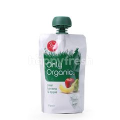 Only Organic Pear Banana And Apple
