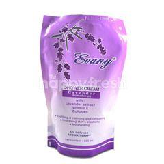 Evany Shower Cream Lavender Aromatheraphy