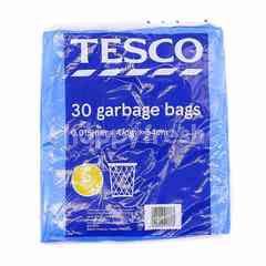 Tesco 30 Garbage Bags Size S