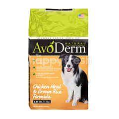 อโวเดิร์ม อาหารสุนัขโต ชนิดเม็ด สำหรับทุกสายพันธุ์ สูตรไก่และข้าวกล้อง A01-038-04(O/R)