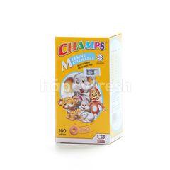 Champs M Lysine Chewable Multivitamin