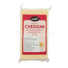 Smilla Keju Cheddar Putih Olahan Original