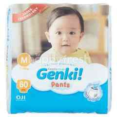 Genki Pants Mega Baby Diapers M60