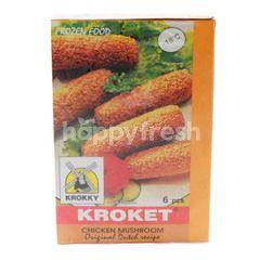 Krokky Chicken Mushroom Croquette