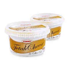 Yummy Fetah Cheese Spread Twinpack