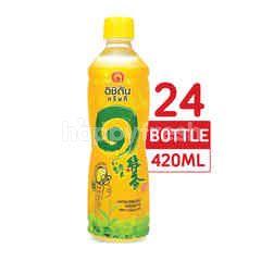 อิชิตัน ชาเขียว รสน้ำผึ้งผสมมะนาว 420 มล. (แพ็ค 24)